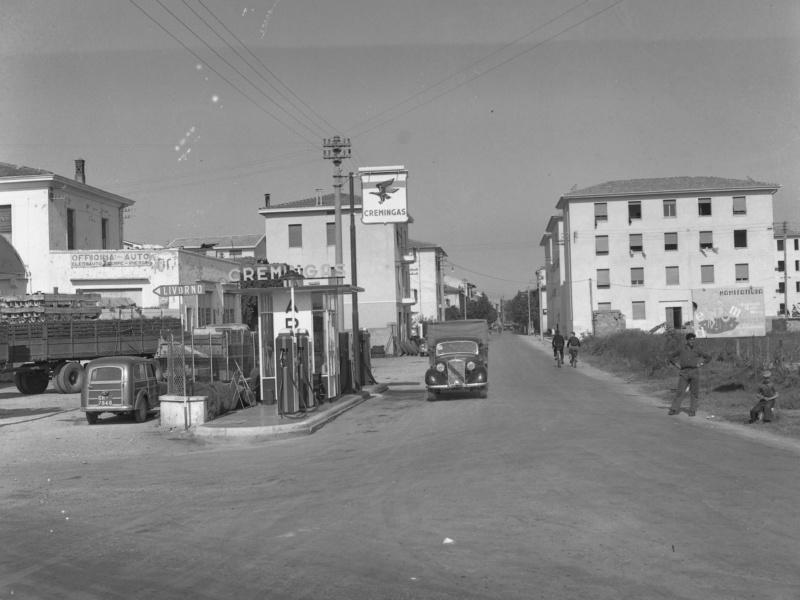 Via dei Mille vista dalla parte delle 4 strade, anni Cinquanta (©AfG)